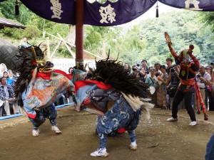10.菅の獅子舞
