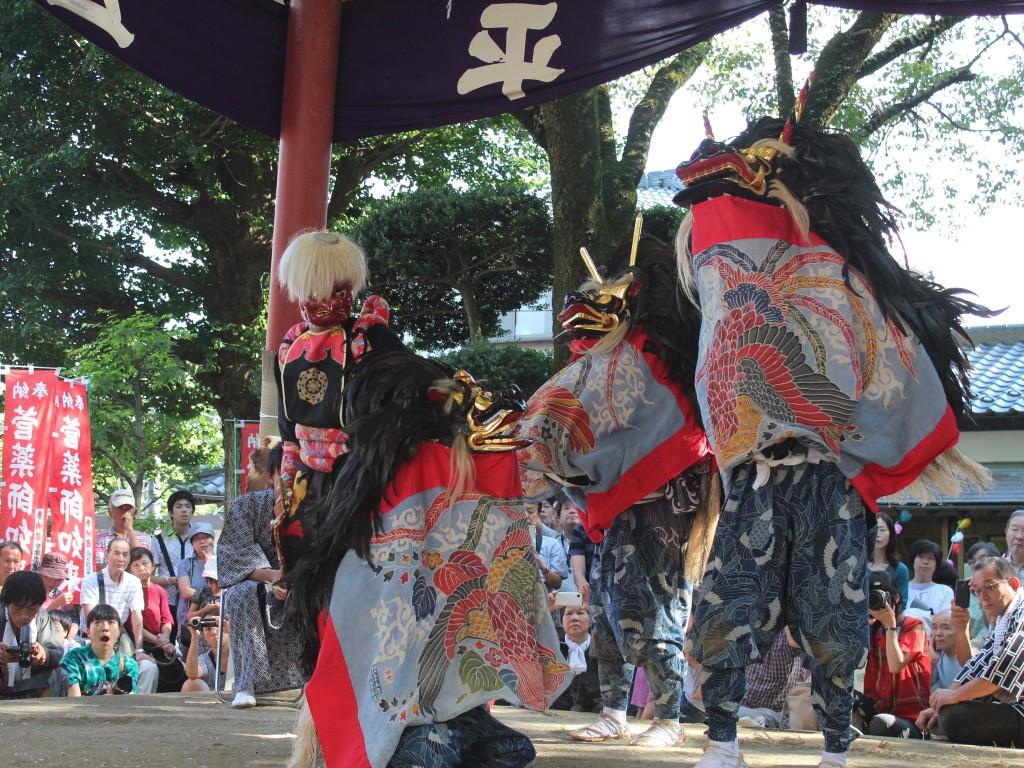 13菅の獅子舞